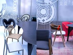 #Moroso Orgatec 2014 Dining Chairs, Lighting, Furniture, Home Decor, Decoration Home, Room Decor, Dining Chair, Lights, Home Furnishings