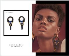 Ankh Lazuli earrings: The Ankh is a symbolic representation of both earthly and eternal life. First created in Ancient Egypt, it is a powerful symbol of the potential to give and sustain life and also serves as a conduit for the divine power of life that permeates the universe. With lapis lazuli, these earrings summon divinity, royalty and the energy of the celestial and spiritual worlds.  PICHULIK A/W16 Ankh Lazuli earrings  Buy Online:http://www.pichulik.com/shop