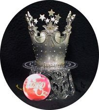 Princess theme Fairytale Queen Wedding Cake Topper Glinda CROWN Wizard of OZ.pretty $39.30