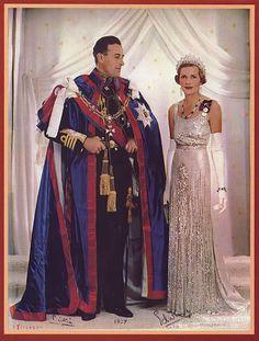 Louis Mountbatten and Edwina Mountbatten