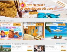 Thomas Cook FR - L'été en folie chez Thomas Cook Séjour à partir de 329 euros
