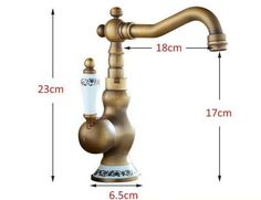 Vintage Brass Faucet – Warmly
