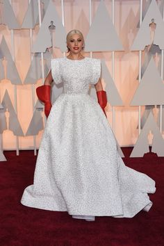 Pin for Later: Prepare to Be Dazzled by This Year's Oscars Red Carpet! Lady Gaga