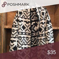 Karen Kane jacket Santa Fe pattern-gray/blk. Very soft. Size Small. Karen Kane Jackets & Coats