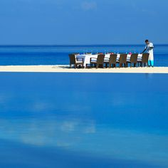 Secluded - Private Beach Dining