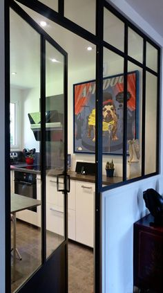 1000 images about atelier loft verriere on pinterest atelier cuisine and glass walls. Black Bedroom Furniture Sets. Home Design Ideas