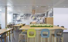 bkp - Office & Neue Arbeitswelten: Kantine für Mitarbeiter