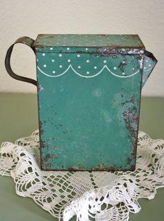 love old stuff Just love this Antique Soap Flakes Pitcher... www.dirtygirlfarm.com