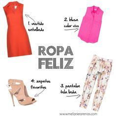 """4 piezas de ropa que te hacen sentir """"feliz"""""""