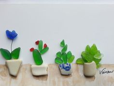 Hey, I found this really awesome Etsy listing at https://www.etsy.com/listing/259478123/genuine-seaglass-art-plants-in-planters