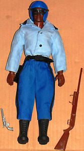 Vintage 70'S BIG JIM Mattel US Police Highway Patrol Doll Action Figure Loose | eBay