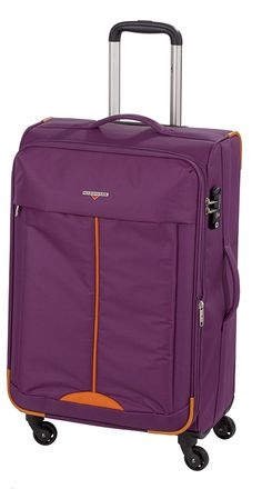 Hardware Lightweight II Trolley M, 4 Rollen Lila/Orange
