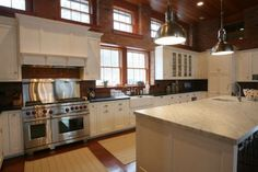 The kitchen. ~ 325B Ocean Ave., Newport, Rhode Island