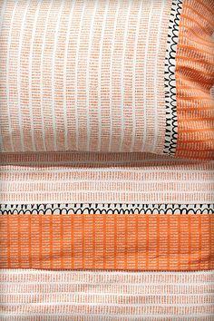 Flecked Stripes Sheet Set - Anthropologie.com