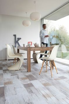 Vinyl primetex fisherman ocean want this for kitchen bathroom laundry - Revetement de sol pvc imitation parquet ...