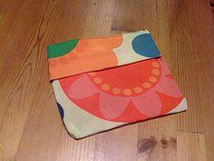 Reusable beeswax cloth sandwich bag: Food-safe, plastic-free!