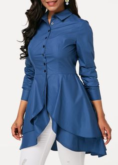 Stylish Tops For Girls, Trendy Tops, Trendy Fashion Tops, Trendy Tops For Women Kurta Designs, Kurti Designs Party Wear, Blouse Designs, Blouse Styles, Trendy Tops For Women, Blouses For Women, Women's Blouses, Stylish Dresses, Fashion Dresses