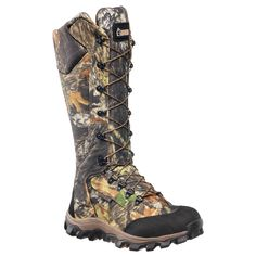 Rocky brand apparel and footwear is for energetic, active people on the go! Known for their superior comfort and design, they're guaranteed to go the distance. These hunting boots by Rocky Lynx featur Hunting Boots, Hunting Clothes, Hunting Gear, Women Hunting, Hunting Stuff, Deer Hunting, Hunting Outfits, Camo Boots, Camo Stuff