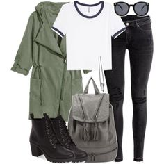 Malia Inspired Affordable Outfit by veterization on Polyvore featuring moda, H&M, MIA and Forever 21