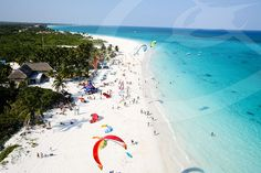 Kiteboarding in Tulum Mexico With Extreme Control