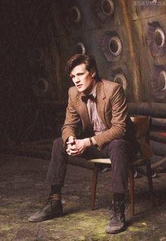 Matt Smith doctor who the last doctor I think