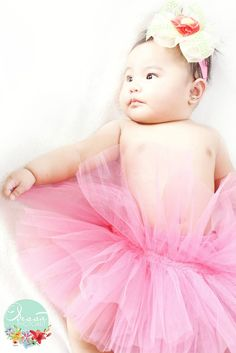 Desree Little Ballerina Baby Photo Sesh of The Lightbox PhotoArt 2014 www.facebook.com/TheLightboxPhotoArt