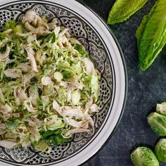 Bob Harper's Brussels Sprout Chicken Caesar Salad Recipe