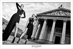 fashion-choices:      Lara Stone and Natasha Poly by  Olivier...