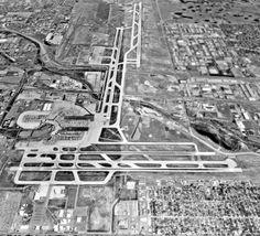 The old Stapleton airport runways