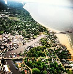 Aerial view of #SouthHaven! By Margo Taylor