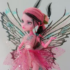 Monster High Doll Repaint Fairy Tinkerbell by HooliganAlley