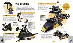 Batman Visual Dictionary with LEGO Minifigure