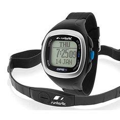 Easy-To-Use GPS Uhr mit Brustgurt um alle outdoor Fitnessaktivitäten wie Laufen Radfahren Wandern Segeln etc. aufzuzeichnen. 4 Modi der GPS Uhr: Uhrzeitmodus GPS Trainings-Modus GPS Navigations-Modus und Kompass-Modus.EXTREM SCHNELLER GPS EMPFANG DURCH A-GPS! Batterielebensdauer bis zu 14 Stunden im GPS-Modus und bis zu 1 Jahr im Uhrzeitmodus (schnell und leicht wiederaufladbar mit beiliegendem USB-Kabel) Trainingsdisplayanzeige kann für jede Sportart angepasst werden; Auswahl aus 23… Running Gps, Fitness Monitor, Gps Sports Watch, Gps Tracking, Tracking Devices, Fitness Watch, Heart Rate Monitor, Gps Navigation, Articles