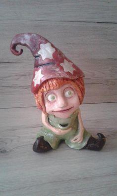 """Wichtel ,, Alice """" Keramik"""