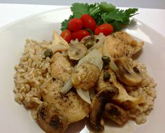 Chicken Tenders in White Wine Sauce - This is so good