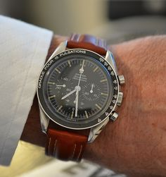 OMEGA Speedmaster Pro Moonwatch Calibre 321 In Stainless Steel Circa 1960s - http://omegaforums.net
