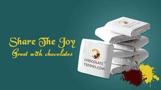 Chocolate….. no doubt it's one of the most #delicious food. Everyone loves to taste chocolates no matter, what the age is. Apart from its yummy taste, chocolates would be perfect #gifts for all special occasions. We offer a wide range of personalized choco gifts like custom #tagged #chocolates, custom #printed chocolates and many more. Give something unique and share the joy with your loved one or friends to see more smiles.
