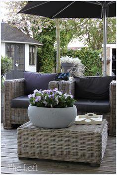 Wicker Patio Furniture - Wicker Home Furniture Outdoor Lounge, Outdoor Life, Outdoor Rooms, Outdoor Gardens, Outdoor Living, Outdoor Decor, Outdoor Seating, Outdoor Ideas, Garden Furniture