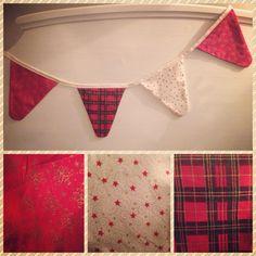 More Christmas bunting xx