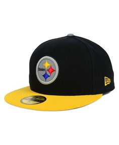 New Era Kids' Pittsburgh Steelers Thanksgiving On-Field Reflective 59FIFTY Cap