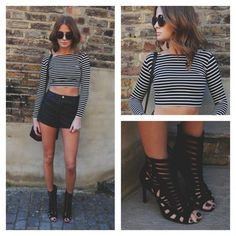outfit con shortss