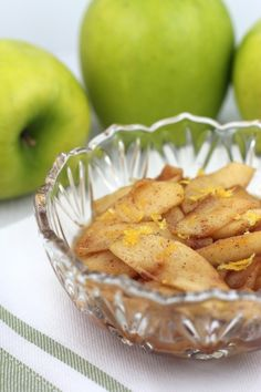 Brown Sugar & Cinnamon Cooked ApplesRecipe