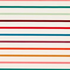 Warm Stripes Wrapping Paper