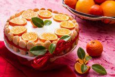 Tort serowy pomarańczowo-mandarynkowy #smacznastrona #przepisytesco #tort #tortserowy #mandarynki #pomarańcze #pycha #sweet