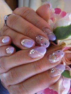 Lavender asymmetrical lavender french