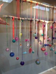 Bekijk de foto van BrendaB met als titel Leuke manier van kerstdecoratie. en andere inspirerende plaatjes op Welke.nl.