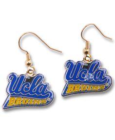Aminco Ucla Bruins Logo Drop Earrings