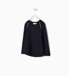 ZARA - KIDS - Knit sweater with shiny seams