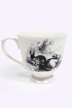 White Rabbit Teacup at Urban Outfitters