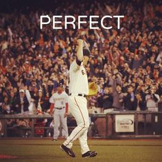 June 13th, 2012: Matt Cain becomes the 22nd pitcher in MLB History to throw a Perfect Game